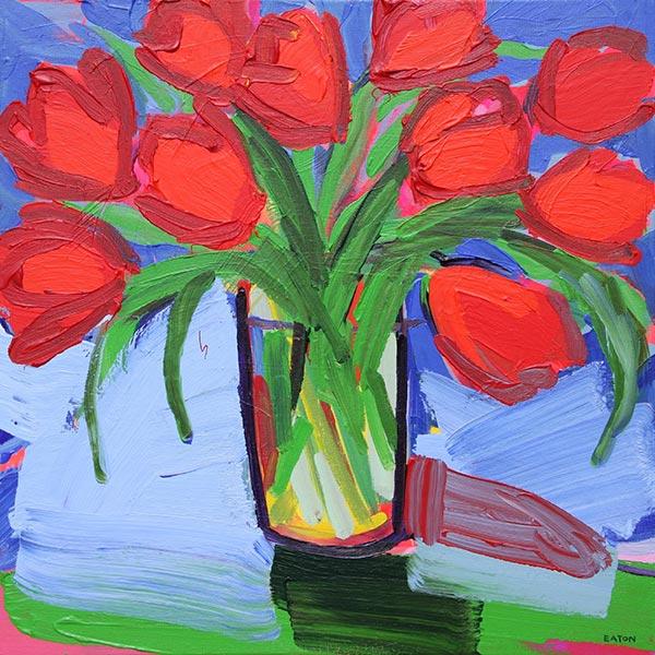 Tulip Jar