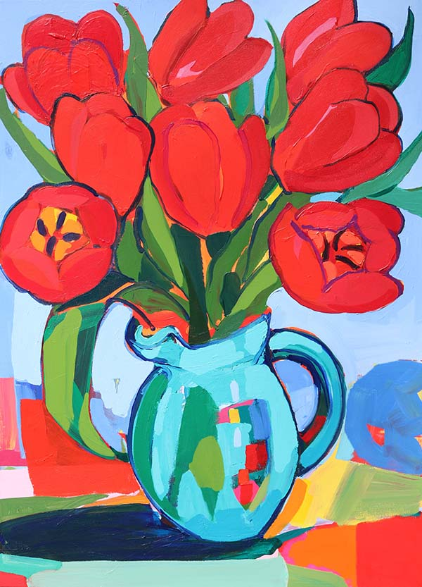 The First Tulips
