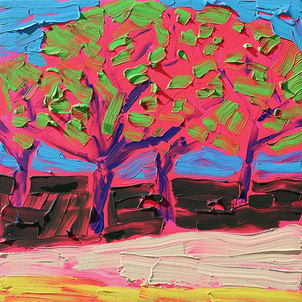Fiery Orchard
