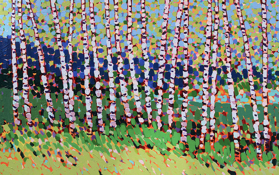 Late Summer Birch