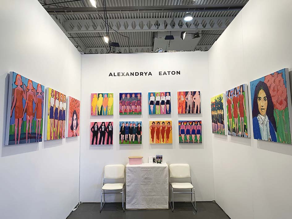 Booth 123,  Artist Project Toronto 2020
