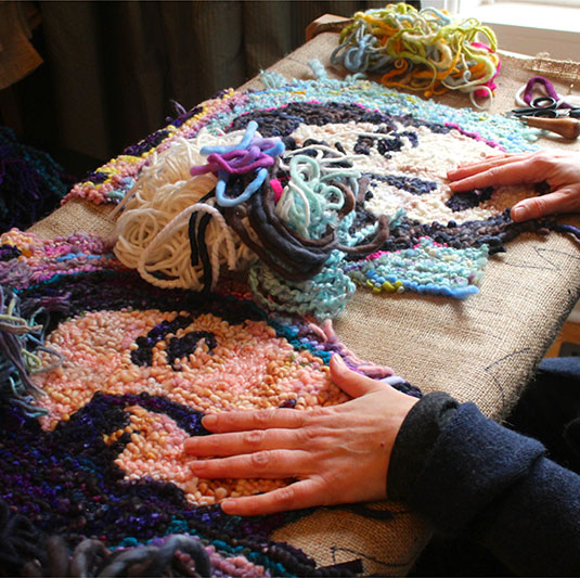 Hooked: Rug Hooking Retreat